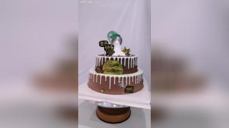 反重力蛋糕, 啤酒蛋糕, 双层动物奶油蛋糕!