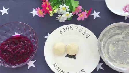 火龙果山药球搭配在一起宝贝们很喜欢吃,宝妈们给宝宝做起来吧!