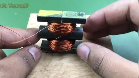 磁铁缠铜丝