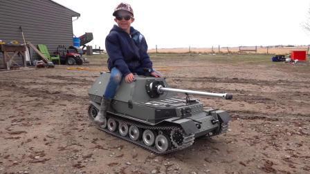 RC遥控坦克