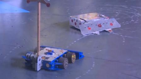 你见过喷火的机器人吗?这次真燃烧了