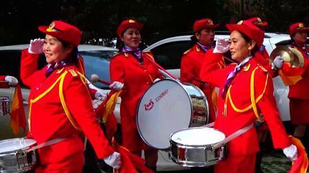 军鼓表演 喜庆之日 武汉市春蕾女子军鼓队