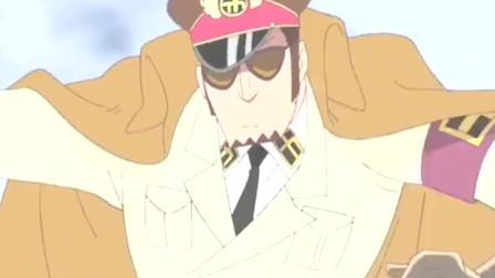 海贼王-黑胡子开进推进城, 作为两面派的他战略很成功,正能量!