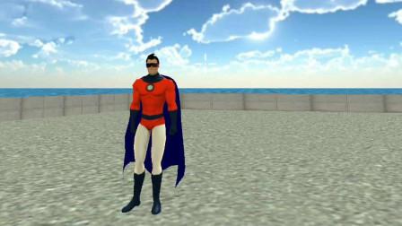 超级英雄:不知道有什么方法能打败汽车人