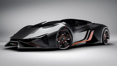 汽车讲堂:兰博基尼限量版跑车蝙蝠,全身体现着高性能