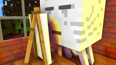 我的世界动画-怪物学院-画画-iCraft