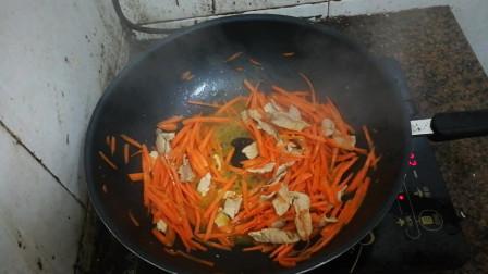 胡萝卜炒肉怎么做好吃 家常胡萝卜的做法 美食菜谱