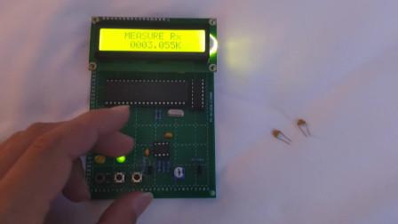 基于51单片机的简易电阻电容测量仪设计 简易电阻电容测试仪设计