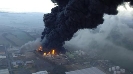 导弹精准命中储油库, 30万桶汽油连环爆炸, 130名美军丧命