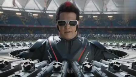 印度版的钢铁侠机器人360度无死角攻击,这火力才叫无敌风火轮