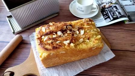 超香的椰蓉吐司,每天吃都不腻,学会了烫种面团,做面包更绵软