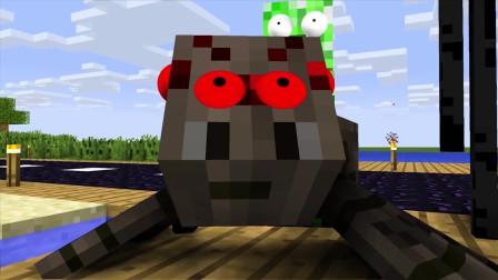我的世界动画-怪物学院-卡丁车-CraziCreators