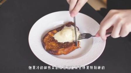 美食:只用鸡蛋,牛奶,吃剩的面包片做的法式吐司,让你回味无穷