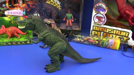 恐龙玩具大赏:仿真电动遥控恐龙模型
