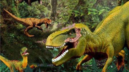 恐龙玩具大赏:美国探索频道官方恐龙玩具套装