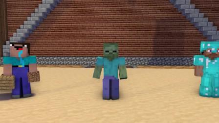 我的世界动画-怪物学院-高手 vs 菜鸟-iCraft