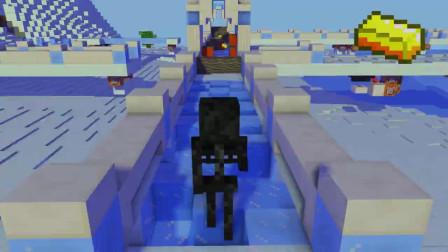 我的世界动画-怪物学院-寺庙狂奔-Minecraft TV