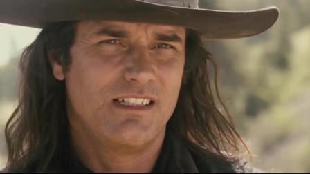 西部动作片《无枪侠》,当美国枪手来到加拿大的小镇时,枪战一触即发