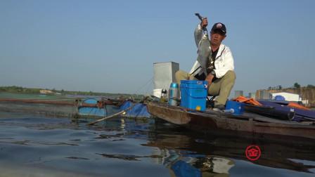众人筏钓收获了意料之外的鱼获  大毛老师更是连竿不断