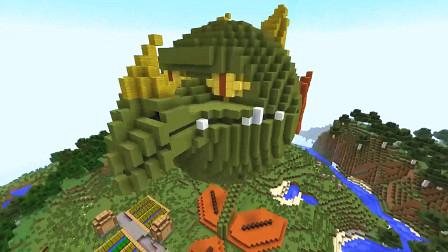 我的世界植物大战僵尸:火龙草的威力你见过吗?那就看看什么叫做火海!