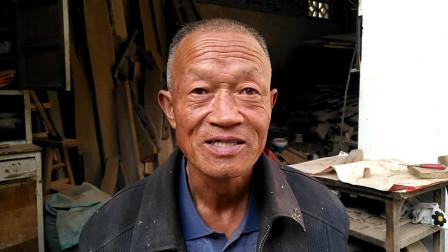 万荣畅彩宏——充实民间传统木工做擀面杖
