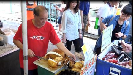 美食侦探带你体验香港街头美食,巨型海鲜