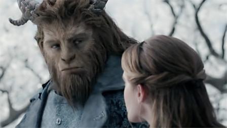 4分钟看完奇幻电影《美女与野兽》