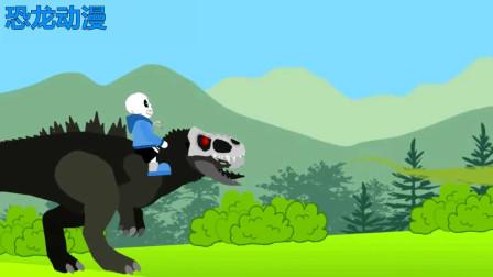 霸王龙棘背龙三角龙详解 恐龙动漫