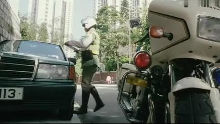惊天大贼王:任达华霸气抢劫香港首富之子,在路上都被他调走