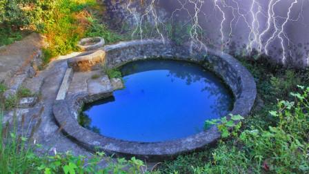 奇观!老农家中水井被雷击,竟引起井水变色?专家,正常现象!