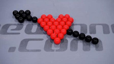 打个台球都是爱你的形状