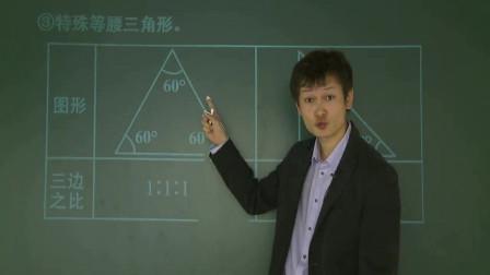 初中数学:中考难题系统复习之三角形,精选期末例题,梳理知识点