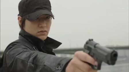 李敏镐在《城市猎人》中的第一次行动, 一气呵成的动作戏A爆了!