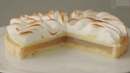 「烘焙教程」柠檬酥皮蛋糕,香脆清甜又不腻