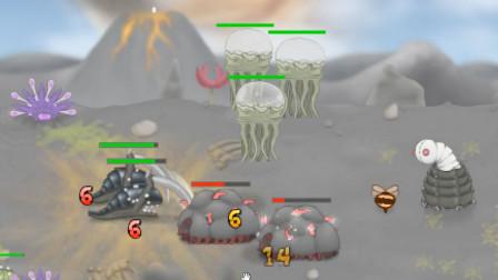 浮生解说单机小游戏 异虫女王 虫族精锐风暴鱿鱼vs变异新兵种