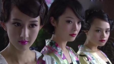 女特务穿浴袍打架还这么美,直把日本男人看呆了!