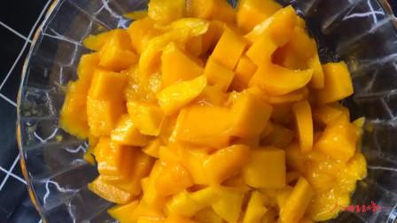 生活日常:在家自己就能做芒果千层蛋糕