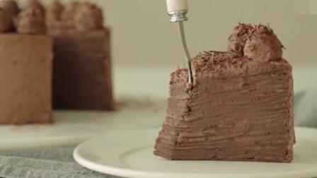 「烘焙教程」醇香最正宗的巧克力蛋糕,5分钟学会!