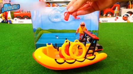 直升机气垫船消防车大集合 宝宝益智汽车新奇玩具礼盒
