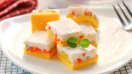 蔬菜蒸蛋糕  宝宝辅食食谱