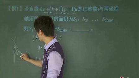 初中数学:中考知识点,一次函数与反比例函数精选题讲解,讲很好