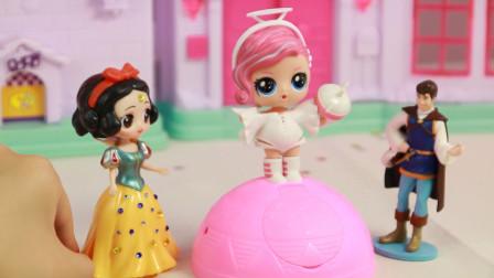 迪士尼婆婆的恶作剧,其实还有惊喜娃娃哦!