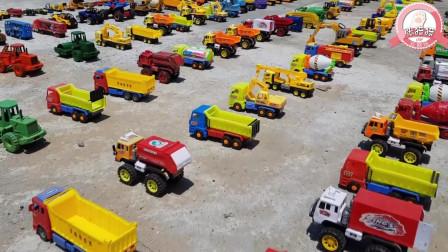 张猫猫与汽车玩具王国 超多的玩具车大展示看看你喜欢哪一辆呢