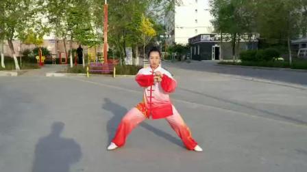 刘晓玲太极弹抖劲