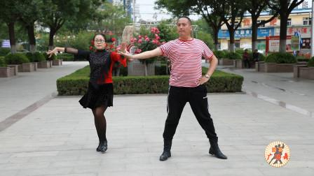 2019新潮的吉特巴舞曲,舞者的表演特别有激情,每个细胞都在舞动