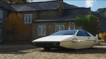 这绝对是我在地平线4中见过的最沙雕的车!