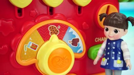 小豆子的饮料贩卖机儿童玩具