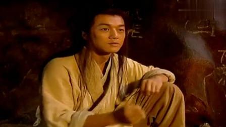 痴痴傻傻的骗过了田伯光,令狐冲回洞里安心学剑法了!
