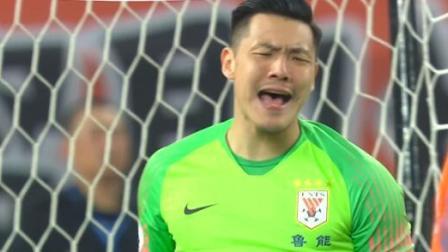 亚冠小组赛第5轮五佳扑救:王大雷两度指尖救险,邹德海门线飞扑