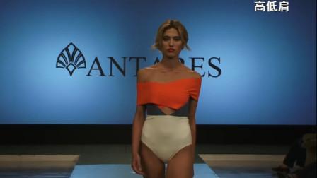 外国模特走秀T台解下裙子的一瞬间,网友:真的是我想多了!